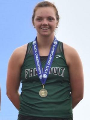 Shot Put    Megan Gehrke    Faribault