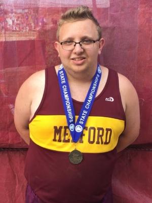 2017-18 MN Track & Field    Shot Put Wheelchair    Luke Johnston    Medford