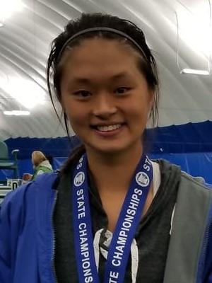 2018-19 Girls Class A Singles Champion    Arlina Shen    Blake