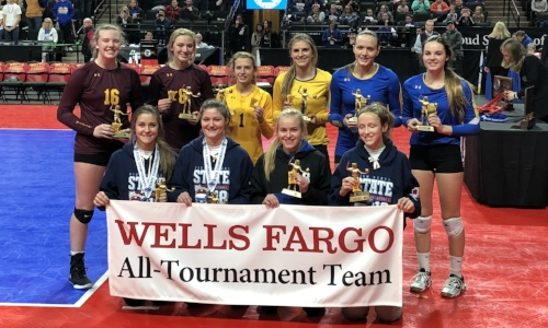 2018-19 Class A Volleyball All-Tournament Team