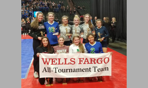 2018-19 Class AAA Volleyball All-Tournament Team