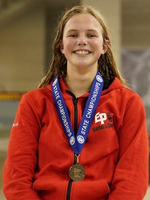 100 Backstroke   Chloe Skogg   Eden Prairie   Photo Courtesy Of:  MN Prep Photo