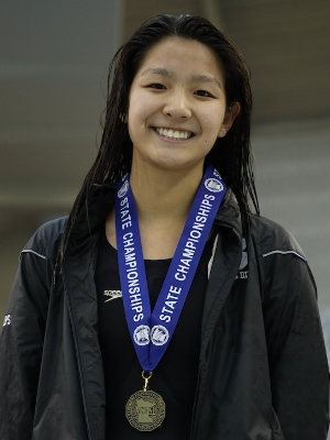 100 Butterfly   Yvonne Jia   Breck   Photo Courtesy Of:  MN Prep Photo