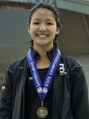 200 Individual Medley   Yvonne Jia   Breck   Photo Courtesy Of:  MN Prep Photo