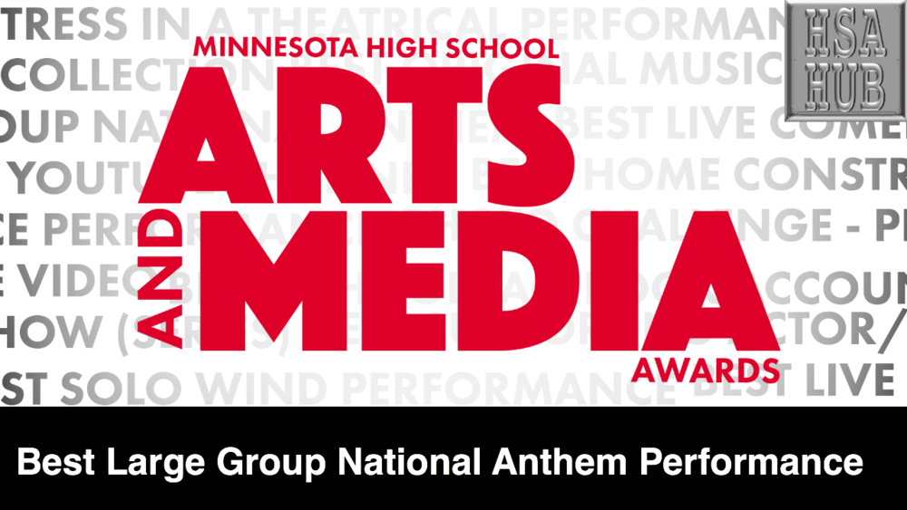 6. Best Large Group National Anthem Performance (6+ Members)    Rules & Guidelines     Sample Video:   Farmington High School Choir - Twins Game National Anthem 2017