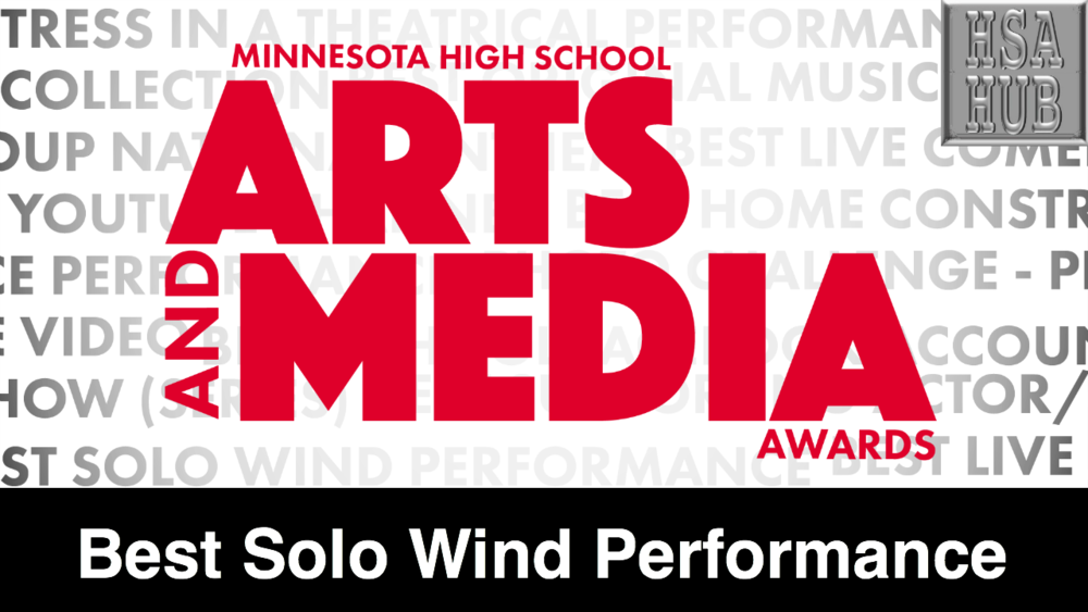 15. Best Solo Wind Performance    Rules & Guidelines    Sample Video:  Not From Minnesota
