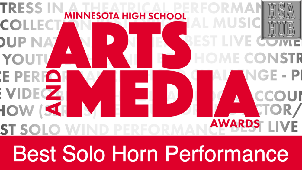 Best Solo Horn Performance    Rules & Guidelines     Sample Video:   Not From Minnesota
