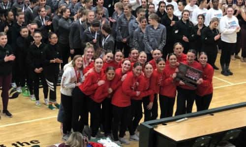 Runner-up    Benilde-St. Margaret's Knightettes  | Section 2AA Runner-up   Roster  |  Website    Team Twitter  |  School Twitter  |  Students Twitter  |  Team FB  |  School FB  |  Instagram
