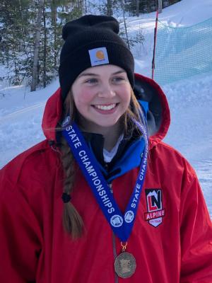 2018-19 Girls Champion   Peyton Servais  Lakeville North