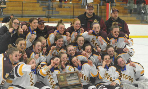 Fergus Falls | Section 6A Champion    Roster  |  Schedule / Results  | Website |  Media Guide   Team Twitter |  School Twitter  |  Students Twitter  | Team FB |  School FB    Fergus Falls Daily Journal Story   Quarterfinal result:  L, 0-2  vs. Breck  Consolation Semifinal result:  W, 7-1  vs. Mankato East