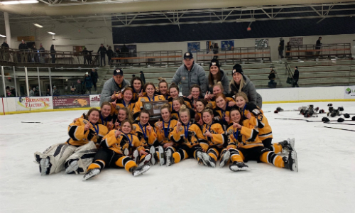 #1 Warroad | Section 8A Champion    Roster  |  Schedule / Results  | Website |  Media Guide    Team Twitter  | School Twitter |  Hockeytown Twitter  |  Team FB  |  School FB    Grand Forks Herald Story   Quarterfinal result:  W, 4-0  vs. St. Paul United  Semifinal result:  W, 5-2  vs. Proctor/Hermantown