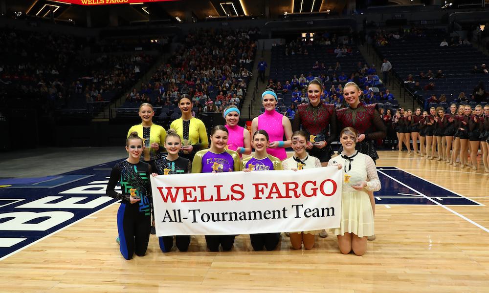 2018-19 Class A High Kick All-Tournament Team    Names of team Members:    Photo Credit:    MN Prep Photo