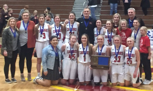 #5 Ada-Borup | Section 6A Champion    Roster  |  Schedule / Results  |  Website  |  Media Guide   Team Twitter |  School Twitter  | Students Twitter | Team FB |  School FB    INFORUM Story   Quarterfinal result: 59-67 loss vs Heritage Christian-  Box Score   Consolation Semifinal result: 76-64 vs. Red Lake -  Box Score