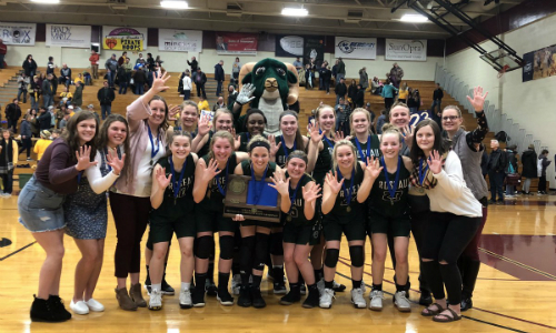 #1 Roseau | Section 8AA Champion    Roster  |  Schedule / Results  | Website |  Media Guide   Team Twitter |  School Twitter  | Students Twitter | Team FB |  School FB    INFORUM Story   Quarterfinal result: 75-74 vs. Redwood Valley -  Box Score   Semifinal result: 55-65 vs. Caledonia -  Box Score