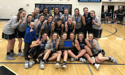 #3 Eastview | Section 3AAAA Champion    Roster  |  Schedule / Results  |  Website  |  Media Guide    Team Twitter  |  School Twitter  |  Students Twitter  |  Team FB  |  School FB  | Instagram  Quarterfinal result:  W, 48-38  vs. Forest Lake  Semifinal result vs Stillwater: 52-65 |  Box Score