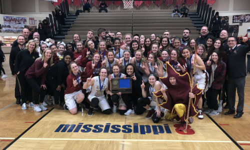 #5 Maple Grove | Section 8AAAA Champion    Roster  |  Schedule / Results  |  Website  |  Media Guide    Team Twitter  |  School Twitter  |  Students Twitter  | Team FB |  School FB  |  Instagram   Quarterfinal result:  L, 64-74  vs. Centennial  Consolation Semifinal result: 47-26 -  Box Score