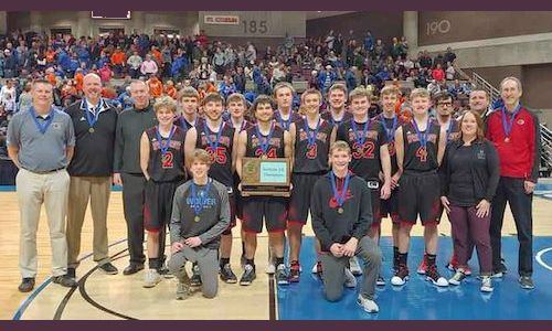 Spring Grove | Section 1A Champion    Roster | Schedule / Results  |  Website  |  Media Guide   Team Twitter |  School Twitter  | Students Twitter |  Boosters FB  |  School FB    KAAL Story  |  KTTC Section Championship Highlights    Quarterfinal result: 78-67 win vs. Springfield -   BOX SCORE  |  KAAL Story   Semifinal result: 67-34 loss vs Henning -  BOX SCORE   3rd Place result: 72-68 win vs Ada-Borup -  BOX SCORE