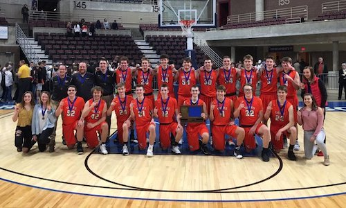 #5 Lake City | Section 1AA Champion    Roster | Schedule / Results  |  Website  |  Media Guide    Team Twitter  |  School Twitter  |  Students Twitter  |  Team FB  |  School FB    KAAL Video    Quarterfinal result: 60-44 win vs Melrose  -  BOX SCORE  |  Post Bulletin Story   Semifinal result: 52-82 loss vs MInnehaha Academy -  BOX SCORE   3rd Place result: 51-47 win vs Perham -  BOX SCORE
