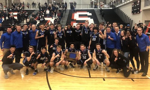 Eastview | Section 3AAAA Champion    Roster | Schedule / Results  |  Website  |  Media Guide    Team Twitter  |   School Twitter    |    Students Twitter     |  School FB  |  District FB    Quarterfinal result: 41-78 loss vs.  East Ridge  -    BOX SCORE     Consolation Semifinal result: 85-78 win vs.  Cambridge-Isanti  -    BOX SCORE     Consolation Championship result: 73-80 loss vs Eden Prairie -    BOX SCORE