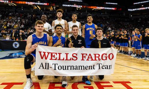 2018-19 Boys Basketball Class AAA All-Tournament Team    Names of team members :   Photo credit:  MN Prep Photo