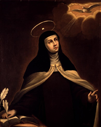 """It is love alone that gives worth to all things."" - St. Teresa of Avila"