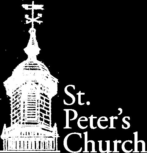 Baptism — St  Peter's Church