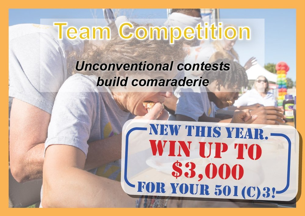 Team Competitions |  Unconventional contests build camaraderie!