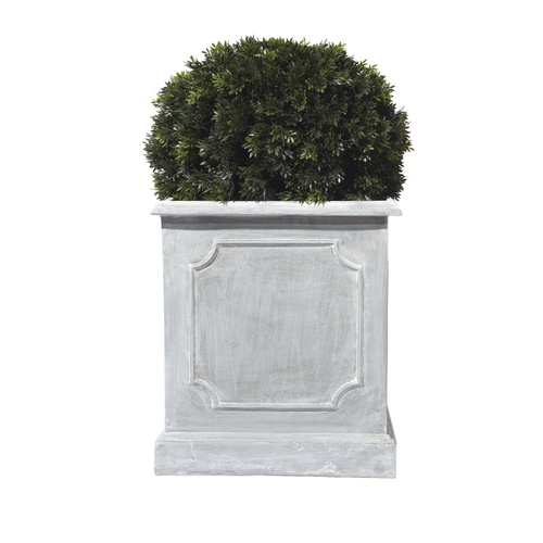 greywash only grey garden planters plant stands english square additional range grigio planter