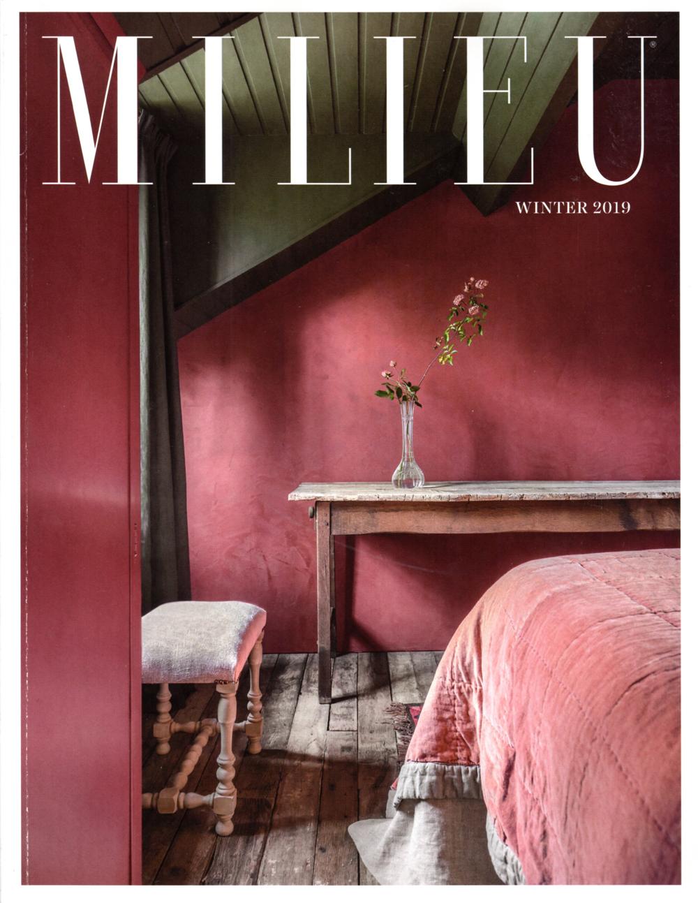 Pennoyer Newman in Milieu Magazine Winter 2019