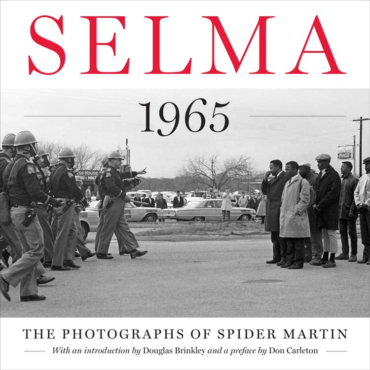 At long last, Spider Martin's powerful and poignant images of the Selma March have been beautifully reproduced in an amazing collection entitled SELMA The Photographs Of Spider Martin as part of the Focus On American History Series through Dolph Briscoe Center For American History University of Texas at Austin - University Of Texas Press.  http://utpress.utexas.edu/index.php/books/spider-martin-selma-1965