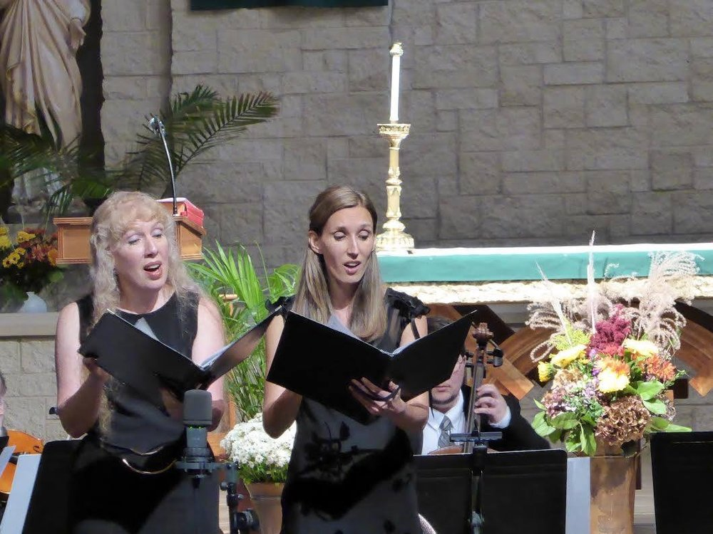- Stabat Mater by Pergolesiperformed by Alyce Ispirescu, sopranoBrenda Rutledge, mezzo soprano