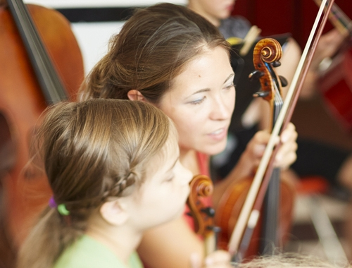 Ruth Klinginsmith - Department Head,Advanced Violin - Ruth Klinginsmith has played the violin for over 17 years after studying violin performance through the Royal Conservatory of Music. Ms. Klinginsmith studied voice privately for over 5 years and has sung in various choirs. She also took string pedagogy classes and vocal studies at the Bob Jones University in South Carolina. Ruth has been teaching violin for 10 years and has played in several orchestras and ensembles, including performing with Pacific Lutheran University (PLLD) in Tacoma, Washington. She taught music classes at Sky is the Limit Montessori in Edgewood and after having created her own private studio, has become a co-founder of the Music Conservatory of Sandpoint.