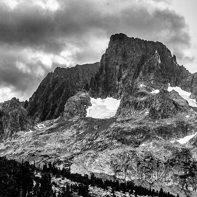 Banner Peak - Ritter Range of California's Sierra Nevada. Elevation 12,936 feet.