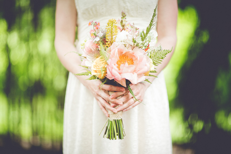 Bouquet by Cherfold Cottage Flowers