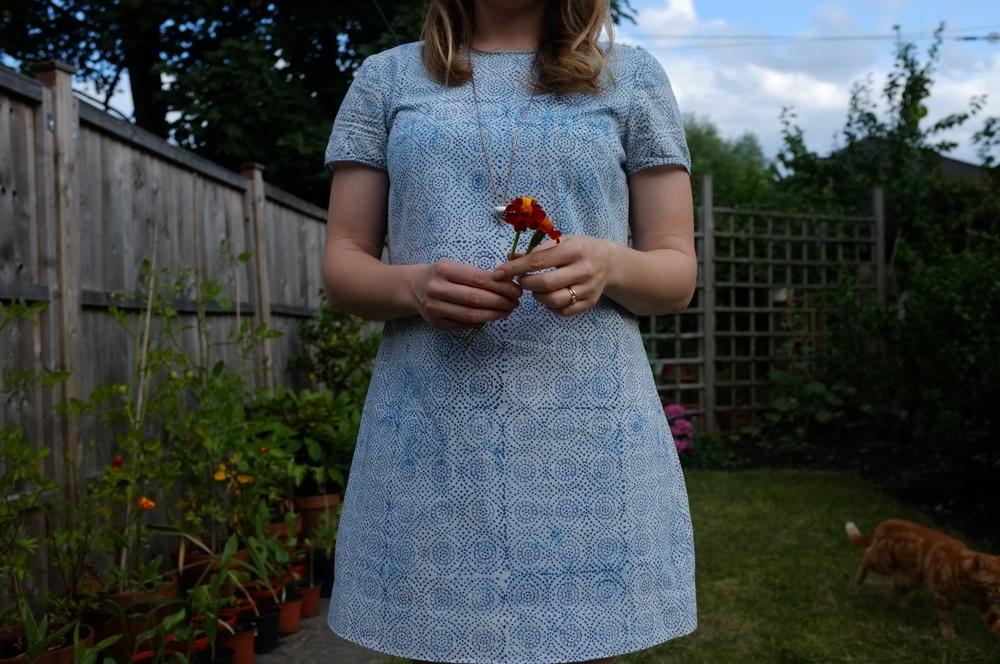 Humbelle.co.uk - cotton shift dress