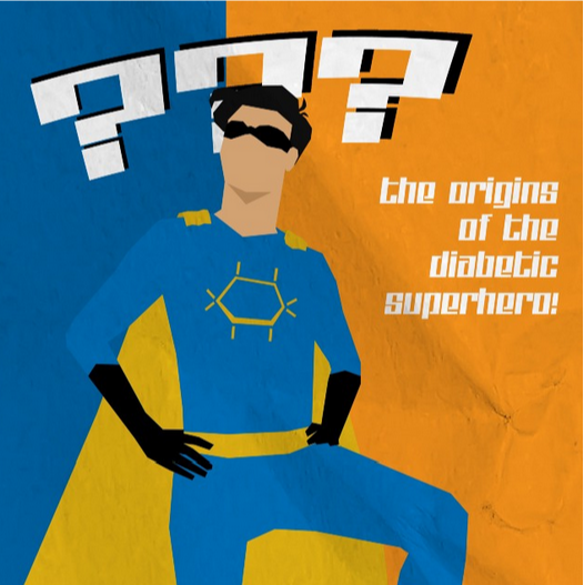 Diabetes Superhero Comic Book