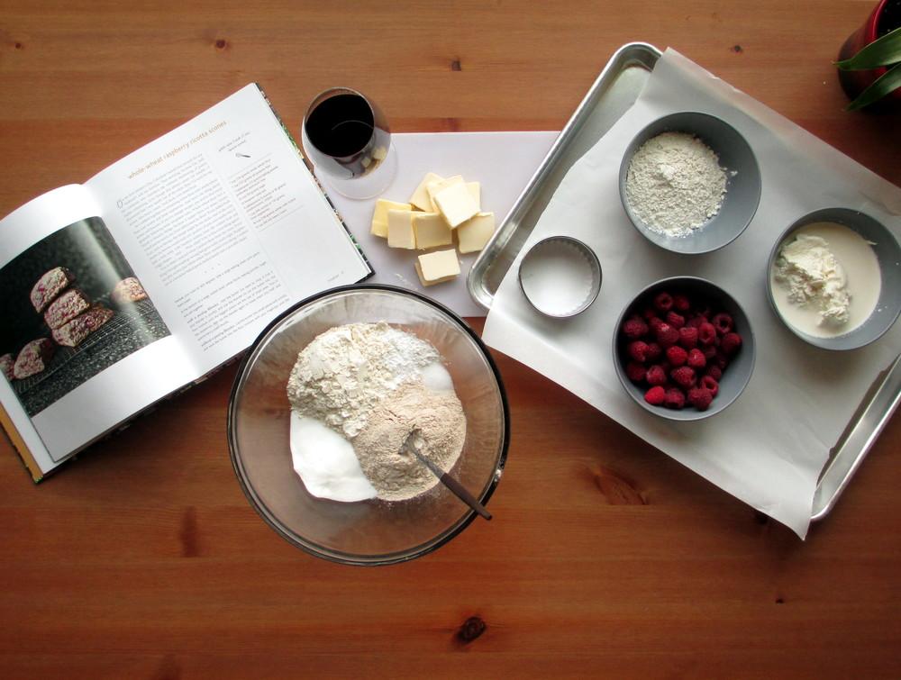 scone ingredients