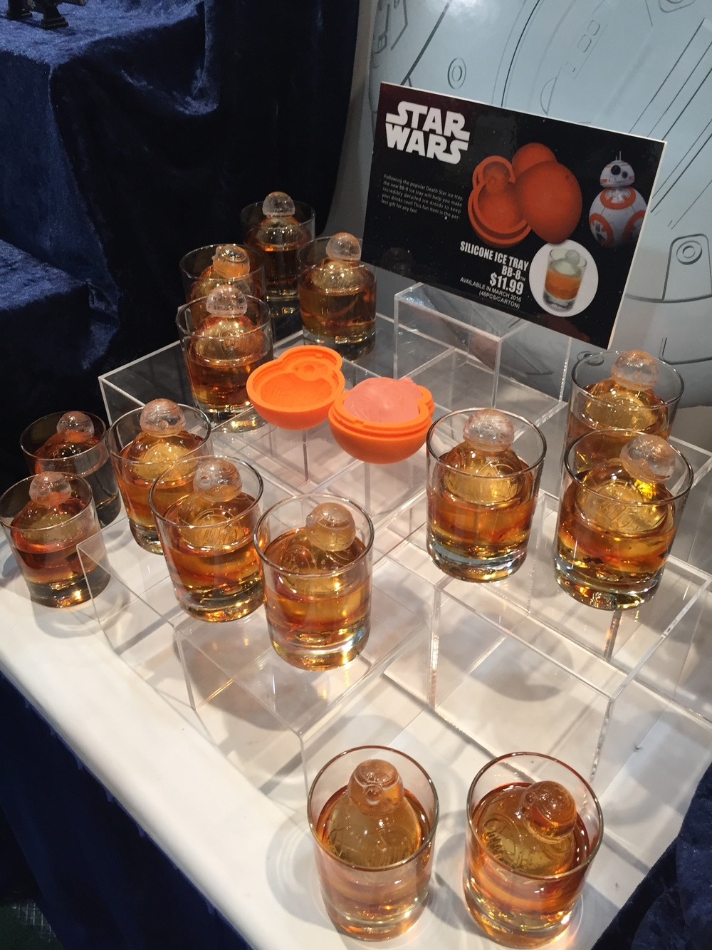 BB-88 Ice Cube Molds from Koto inc.