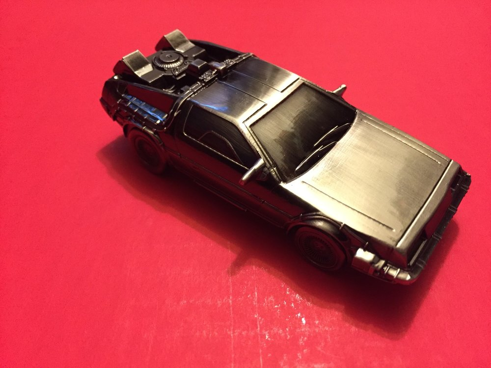 BTTF Delorean bottle opener