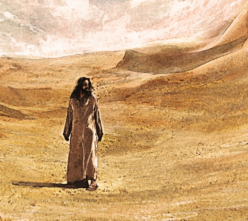 Jesus in the Desert - Tim Wade.jpg