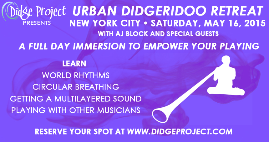URBAN DIDGERIDOO RETREAT