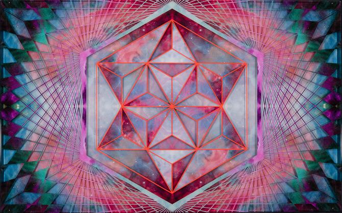 Art by Sebastian Wahlhttp://www.sebastianwahl.com/Cosmic-Hexagon