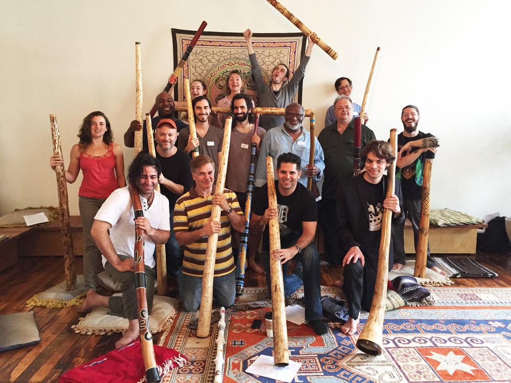 From last year's Urban Didgeridoo Retreat