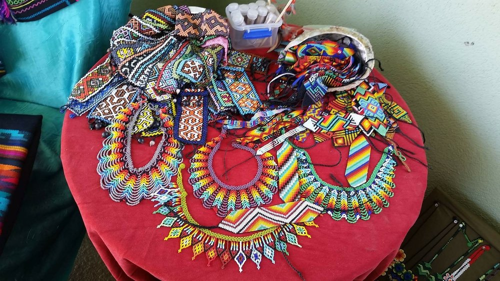 Central and South American Indigenous handmade beadwork available for purchase