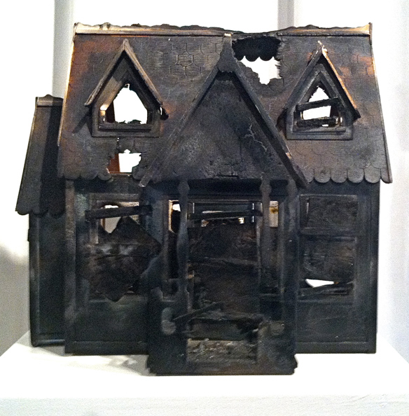 burnt-house-sculpture