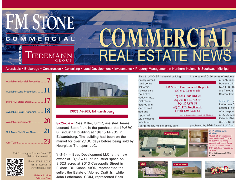 Click on this image to download a PDF of the current edition of the FM Stone Newsletter.