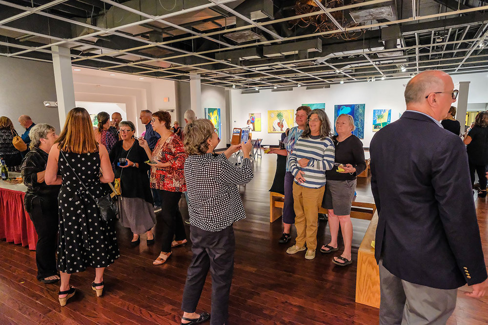 Artist Reception in the Main Gallery