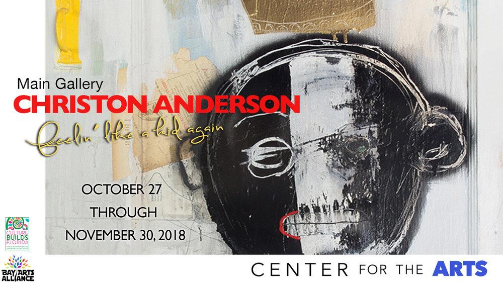 Christon Anderson - MAIN GALLERY Christon Anderson EXHIBIT October 27 - November 30, 2018