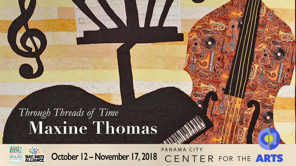 Maxine Thomas - See Through Threads of Time this fall in the Higby Gallery