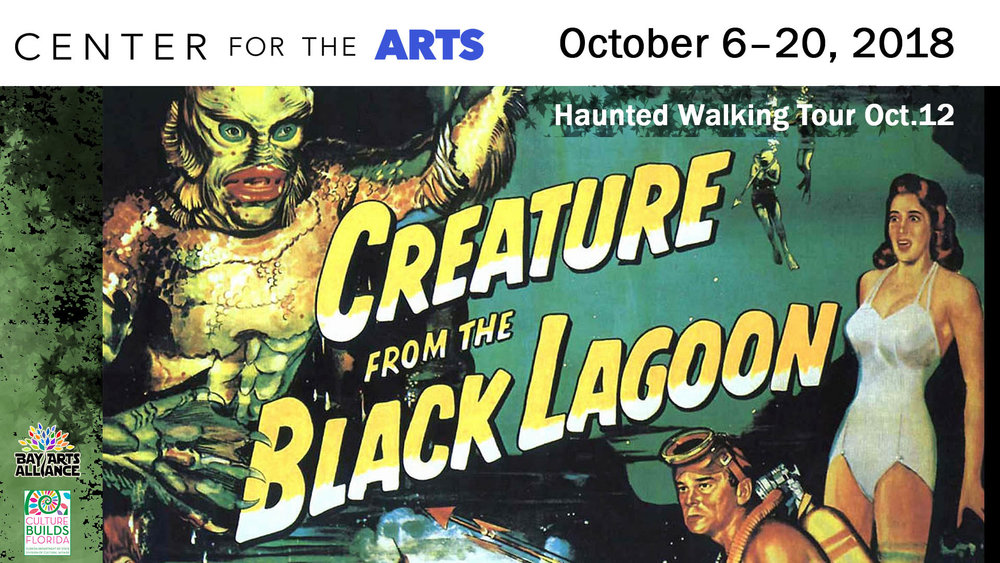 A Vintage Scare - Panama City Haunted Downtown Walking TourComing October 6 through October 20th see amazing vintage posters from some of the most bone chilling movies ever made.Collection of Larry T. Clemons, Gallery 721, Panama City, Florida